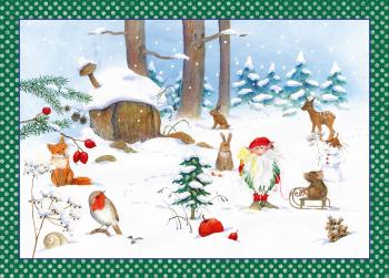 Adventní kalendář - Zimní skřítek