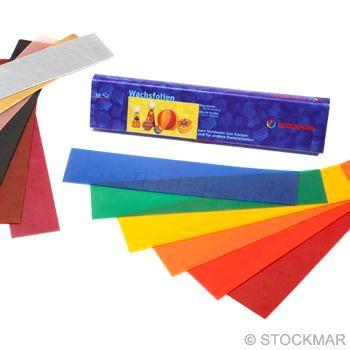 STOCKMAR Dekorační vosk - 20 x 4 cm - 12 barev