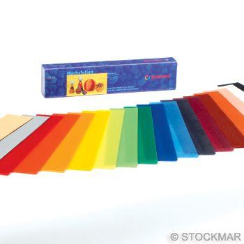 STOCKMAR Dekorační včelí vosk - 20 x 4 cm - 18 barev