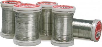 Postříbřený drátek 0,3 mm - 50 metrů